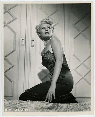 Blonde Femme Fatale Rita Hayworth The Lady From Shanghai Vintage Photograph 1947