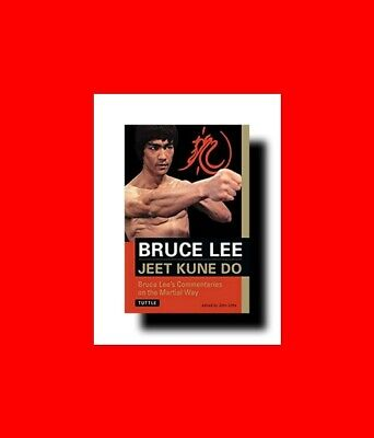 Martial Arts Book:jeet Kune Do:bruce Lee's Commentaries On%The Way-Principle+Tec