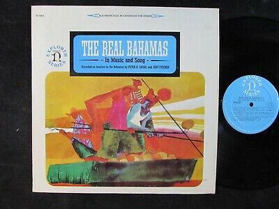 THE REAL BAHAMAS In Music And Song NONESUCH WORLD MUSIC LP caribbean island VG+