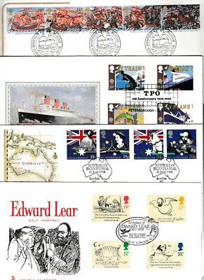 GB 1988   First Day Covers