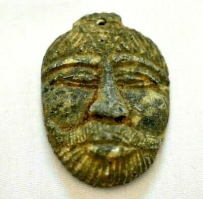 ancient Egyptian stone amulet  Roman and Byzantine Egypt 30 BC–641 AD