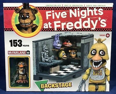 Five Nights at Freddy/'s Backstage Classic Series Medium Construction Set NEW
