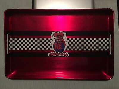 5pcs Rat Fink Hot Rods Big Daddy Ed Roth Dark Red Gifts Seals Self Inking Stamp
