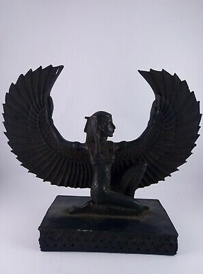 RARE ANTIQUE ANCIENT EGYPTIAN Statue Pharaoh Isis 380-362 BC
