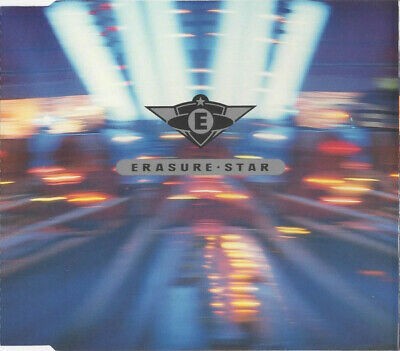 Erasure Star 4 Track Cd Single Cdmute111