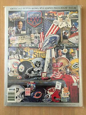 1990-91 NFL SUPER BOWL XXV PROGRAM - NEW YORK GIANTS vs BUFFALO BILLS