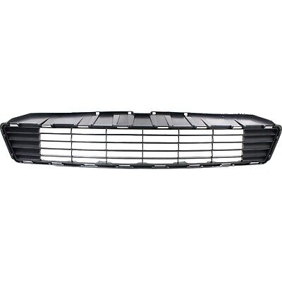 Bumper Grille For 2012-2014 Toyota Prius C Center Textured Gray Plastic