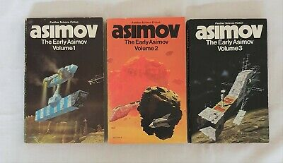 The Early Asimov by Isaac Asimov (Three Volumes - Complete) | PB 1974