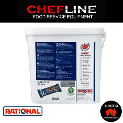 Rational Combi Oven Cleaning Tabs Combi Ovens Tabs x150 with Care Control Tablet