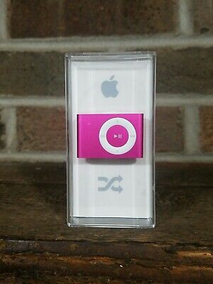 Apple iPod shuffle 2nd Generation Pink (1 GB), Comes With Box And Charger