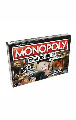 Hasbro Monopoly Cheaters Edition Brand New Sealed, Shrink Wrapped & Post Free