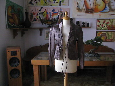 Jacket Woman Stretch, Colour Bronze, SIZE S - Made in Italy