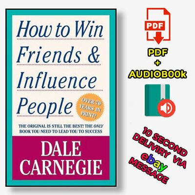 How to Win Friends and Influence People by Dale Carnegie ⚡Audio-book & P-D-F⚡
