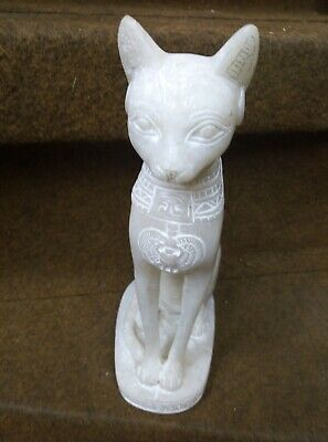 ANCIENT EGYPTIAN ANTIQUE STATUE Of Figurine Egypt Cat Goddess Bast Bastet 945 Bc