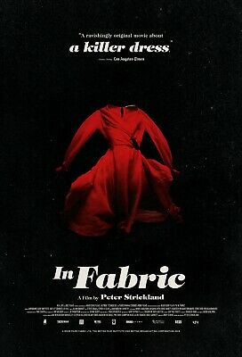 In Fabric Horror Thriller Movie Poster Film A4 A3 A2 A1 Print Cinema