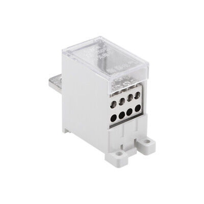 1 In 8 Out DIN Rail Terminal Blocks 250A Max Input Distribution Block