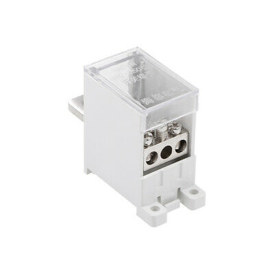 1 In 3 Out DIN Rail Terminal Blocks 250A Max Input Distribution Block