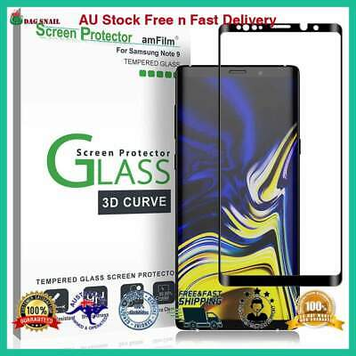 Tempered Glass Full Cover SAMSUNG Galaxy Note 9 Screen Protector Black