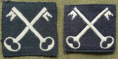 PAIR OF 2ND Infantry Division