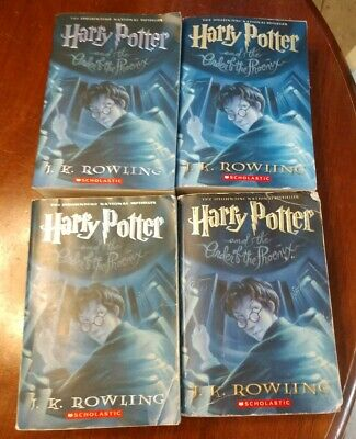 Harry Potter: Harry Potter And The Order Of The Phoenix #5 J.K. Rowling[PB] EUC