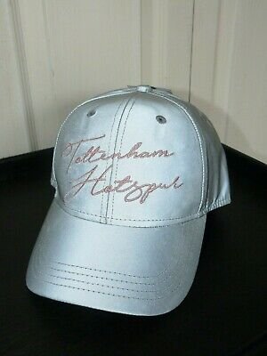 Ladies Silver  TOTTENHAM HOTSPUR Baseball Cap One Size - Official Merchandise