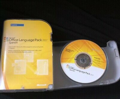 Microsoft Office Language Pack 2007 Spanish expand MS Office programs proofread