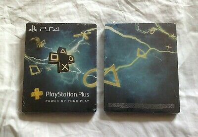 Steelbook Neuf Format Blu-Ray Pour Playstation Plus Ps4