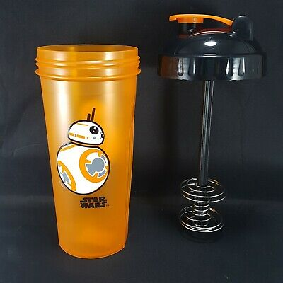 Perfect Shaker BB-8 Star Wars Blender Cup Bottle Large 28 oz Orange Black