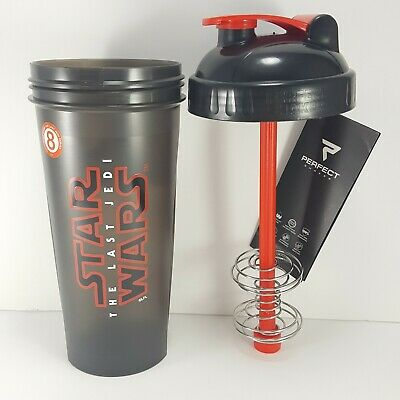 Perfect Shaker Star Wars The Last Jedi Shaker Cup Bottle Large 28oz BPA Free