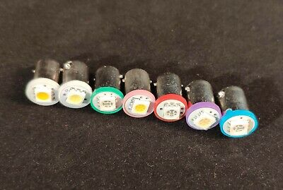 Pinball LED #44 bayonet super bright flat top 5050