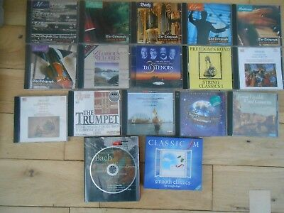 Job lot of Classical CDs Various Composers