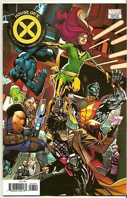 HOUSE OF X #3 (MARVEL 2019) 1st PRINT ASRAR CONNECTING VARIANT HOT SOLD OUT NM+