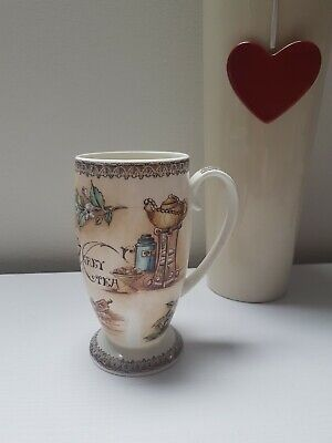 EASTERN PROMISE Fine Bone China Footed Mug Coffe/Tea Cup by Hudson Middleton