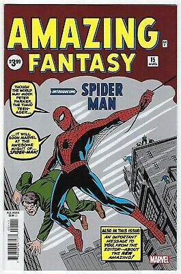 Amazing Fantasy # 15 Facsimile Edition NM 1st App of Spider-Man Ships Oct 9th