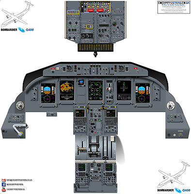 BOEING 737-800/900 WITH 600/700 Diffs Cockpit Poster - 100