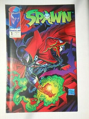 Spawn #1 In Vf/Nm Unread Condition Or + First Appearance Of Spawn