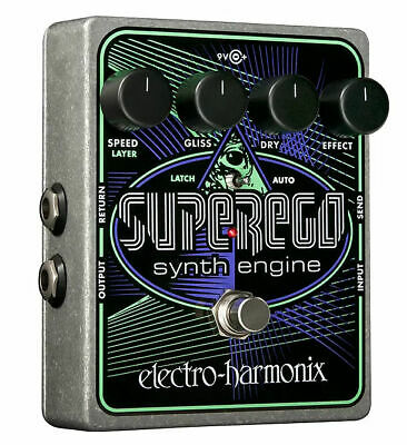 Electro-Harmonix Superego Synth BRAND NEW WITH WARRANTY! FREE 2-3 DAY S&H IN U.S