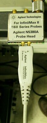 Agilent N5380A Probe Head InfiniiMax II 12 GHz differential SMA adapter TESTED!