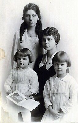 Cabinet Card Photo Darling GIRL Cousins ALL ID'D Pittsburg, Penn.