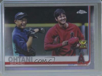 2019 Topps Chrome Image Variations #1 Shohei Ohtani Los Angeles Angels Card