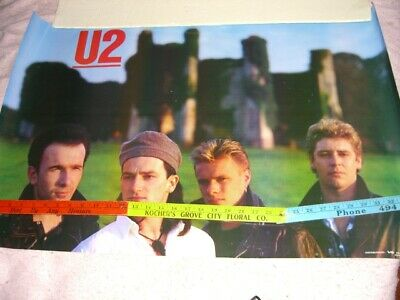 Posters, U2, Artists U, Rock & Pop, Music Memorabilia