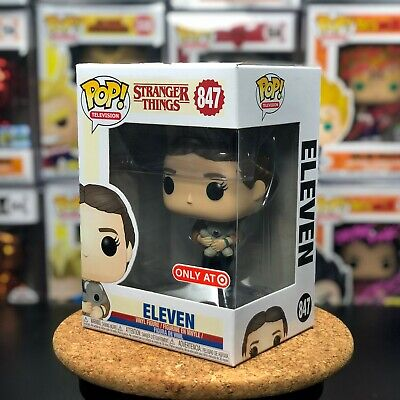 Funko POP! Stranger Things Eleven with Bear w/ PROTECTOR Target Exclusive #847