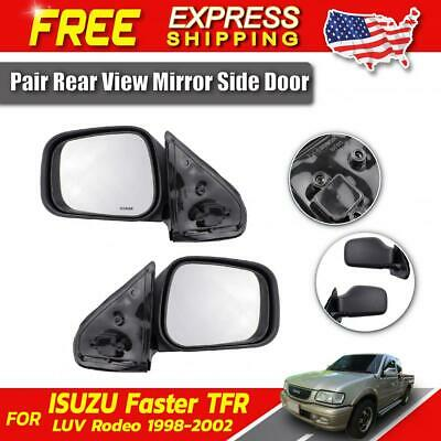 Rear View Mirror LH Side Door Fit For Isuzu Faster TFR Rodeo LUV Truck 1998-2002