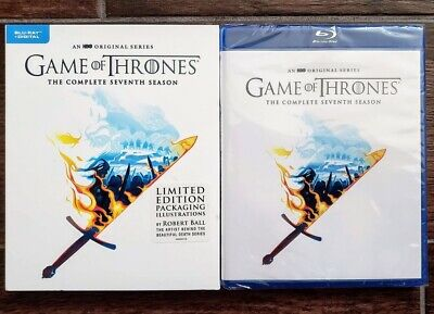 Game Of Thrones Season 7 Bluray Robert Ball Limited Edition - No Digital Got