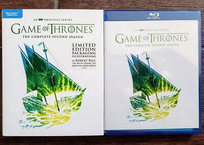 Game Of Thrones Season 2 Bluray Robert Ball Limited Edition - No Digital Got