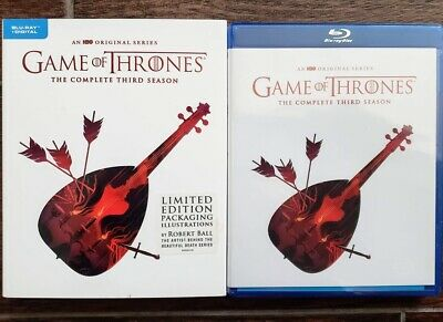 Game Of Thrones Season 3 Bluray Robert Ball Limited Edition - No Digital Got