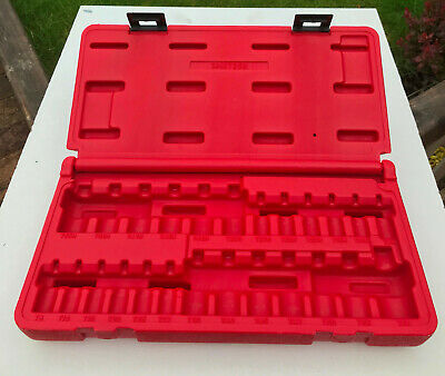 "25pc Mac Tools 1/4"" 3/8"" 1/2"" Torx TX driver storage tool box carry case inc VAT"