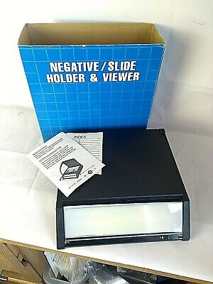 Vintage Negative And Slide Viewer And Hold Boxed And Complete With Instructions