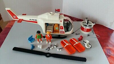 Y4102 Support pour Perfusion Gris Hélicoptère 3789 PLAYMOBIL HOPITAL