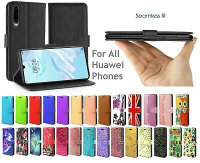 Case For Huawei P Smart 2019 & P Smart 2018 Cover Genuine Wallet Folio Flip Book
